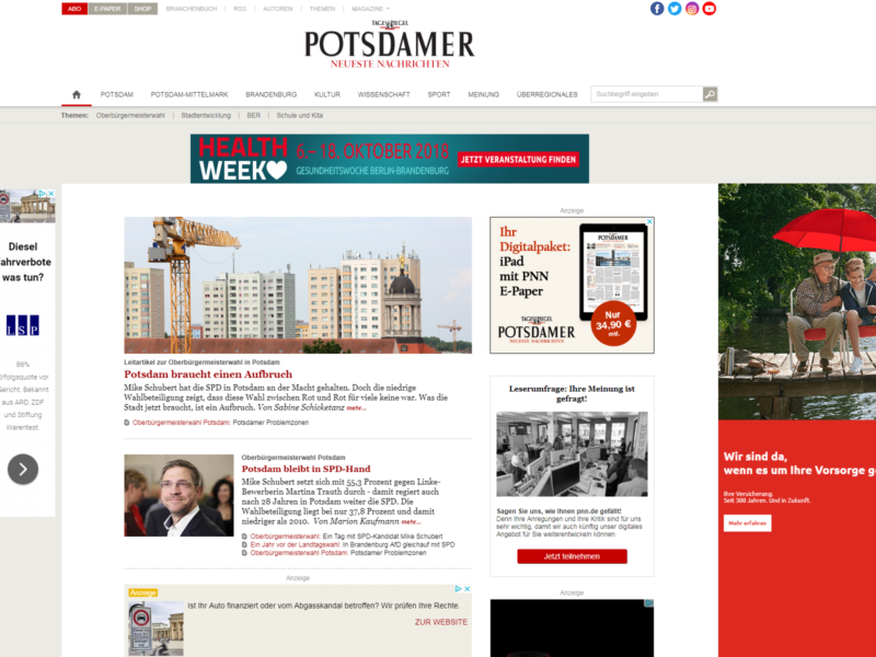 Potsdamer Neueste Nachrichten » Urban Media