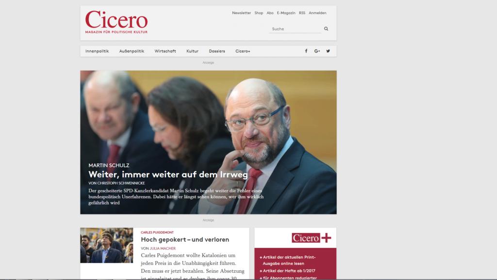 Cicero.de » Urban Media