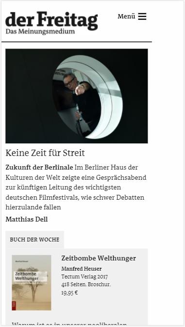 Freitag.de » Urban Media