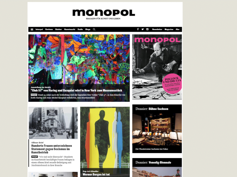 Monopol-Magazin.de » Urban Media