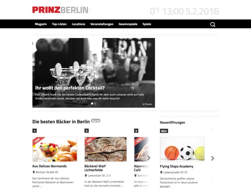 PRINZ.de » Urban Media