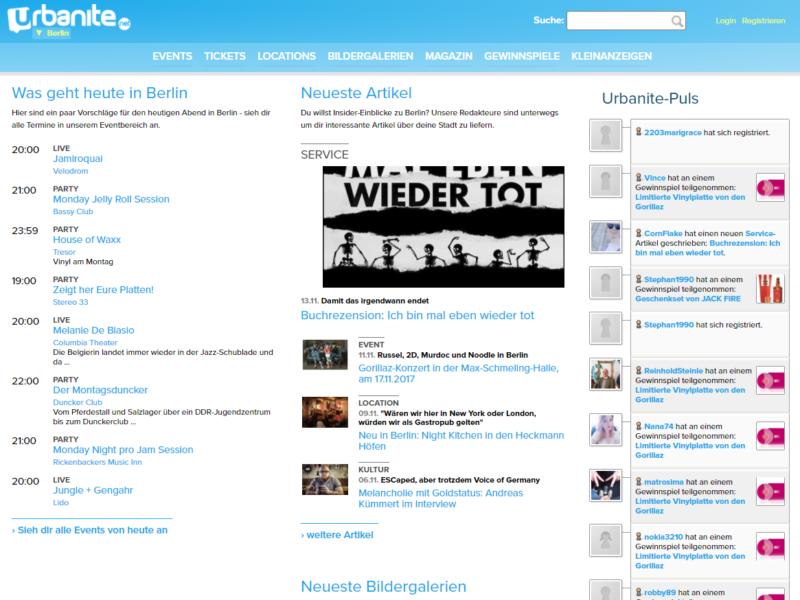 urbanite.net » Urban Media