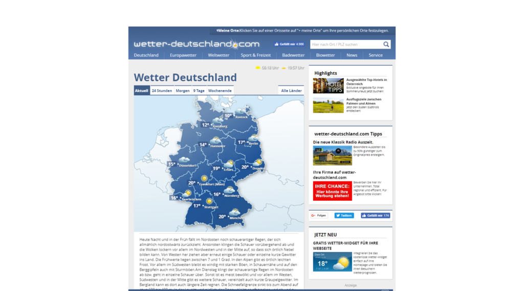 wetter-deutschland.com » Urban Media