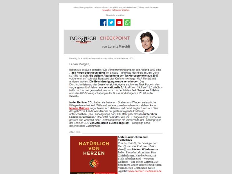 Checkpoint Newsletter » Urban Media