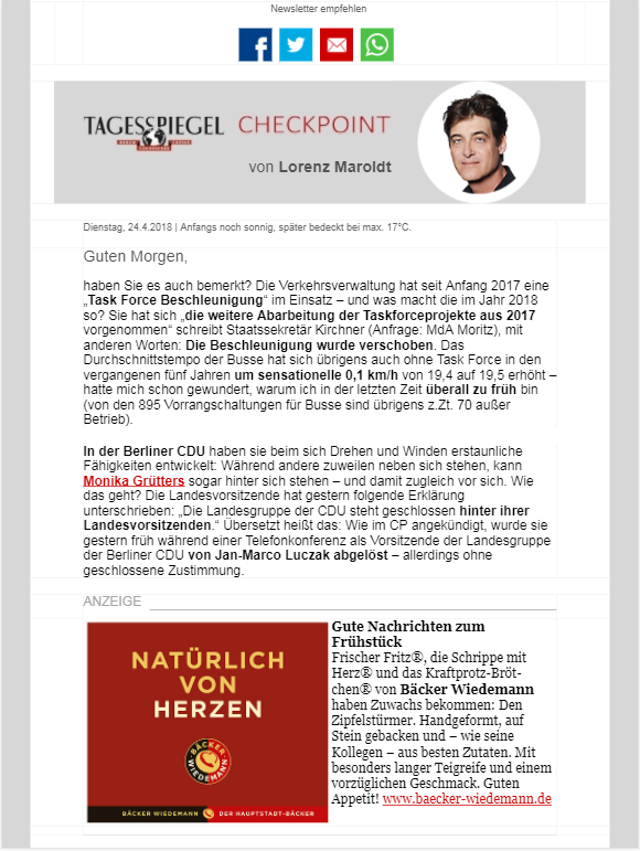 Checkpoint Newsletter » Urban Media