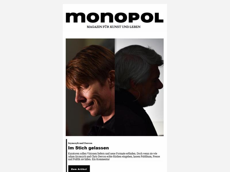 Monopol Newsletter » Urban Media