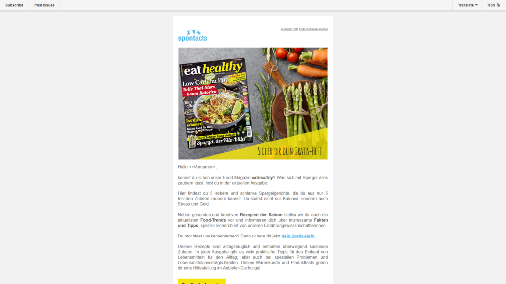 Spontacts Newsletter » Urban Media