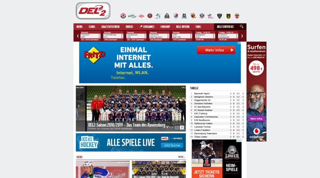 Deutsche Eishockey Liga 2 » Urban Media